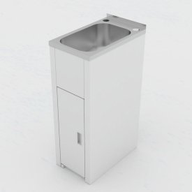Utility Mini Laundry Tub and Cabinet