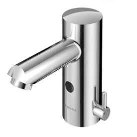 Schell Modus E Basin Mixer - Hot & Cold