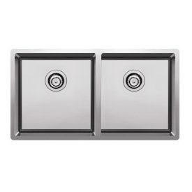 Prism Double Bowl Undermount/Overmount