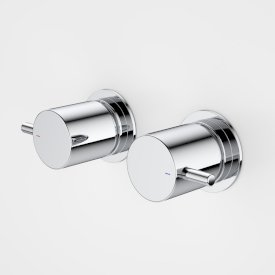 Contemporary Lever Wall Handle Set