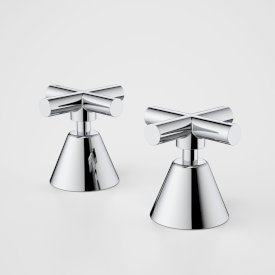 Coolibah Classic Cross Basin Handle Set