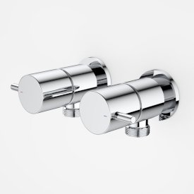 Contemporary Lever Washing Machine Tap Set