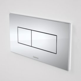 Invisi Series II® Rectangular Dual Flush Plate & Buttons (Metal)