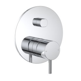 Round Pin Wall Mixer with Diverter