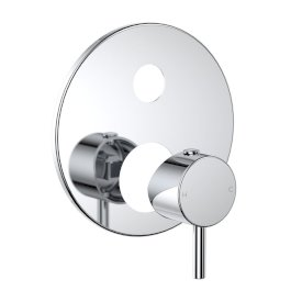 Round Pin Wall Mixer with Diverter - Trim Kit