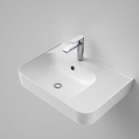 Sculptural Rectangle Basin with Right Hand Shelf