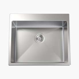 Square 45L Laundry Sink
