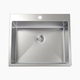 Square 45L Laundry Sink