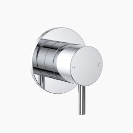Round Pin Wall Mixer