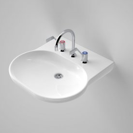 Opal Sole Wall Basin