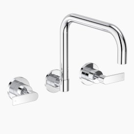 Lever Wall Sink Set