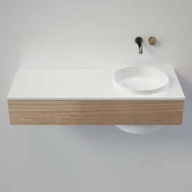 Elvire 1200 Wall Basin - Tasmanian Oak