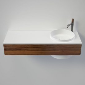 Elvire 1200 Wall Basin - Tasmanian Blackwood