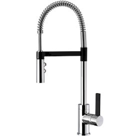 Culinary Gaston Pull Down Sink Mixer (Black)