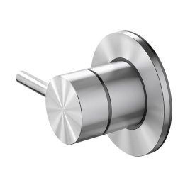 Tūroa Shower Diverter Stainless Steel