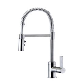 Culinary Gaston Pull Down Sink Mixer (Satin)