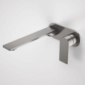 Urbane II 220mm Wall Basin / Bath Mixer - Round Cover Plate