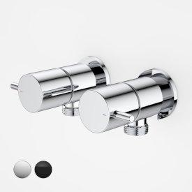 Luna Lever Washing Machine Tap Set