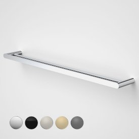 Urbane II 825mm Double Towel Rail