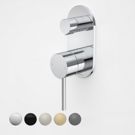 Liano II Bath / Shower Mixer With Diverter (Round Cover Plate)