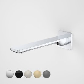Urbane II 220mm Basin / Bath Outlet - Square Cover Plate