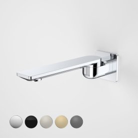 Urbane II 220mm Bath Swivel Outlet - Square Cover Plate