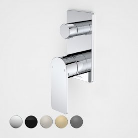 Urbane II Bath / Shower Mixer With Diverter - Rectangular Cover Plate