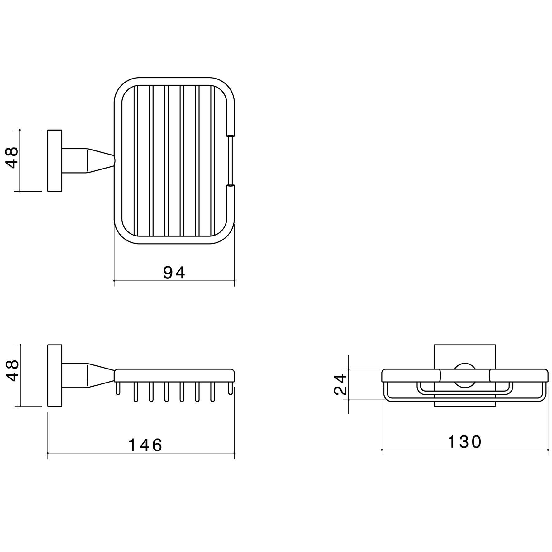 Bathroom Accessories - Enix - Enix Soap Basket